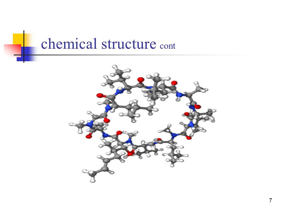 7 chemical structure cont