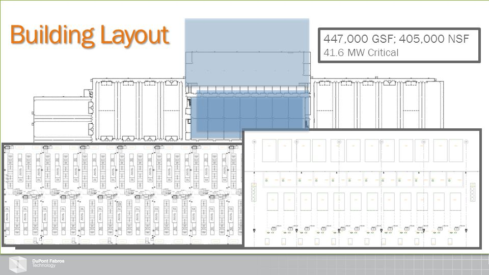 UPS ROOMS: Centrally Located vs. Linear (14) UPS Rooms (28) 1600 kW UPS Units Vs.