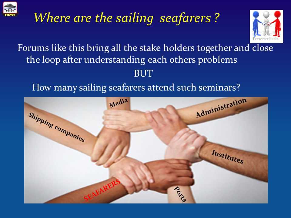 Where are the sailing seafarers .