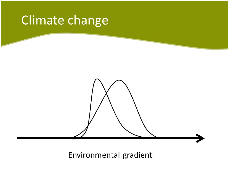 Climate change Environmental gradient