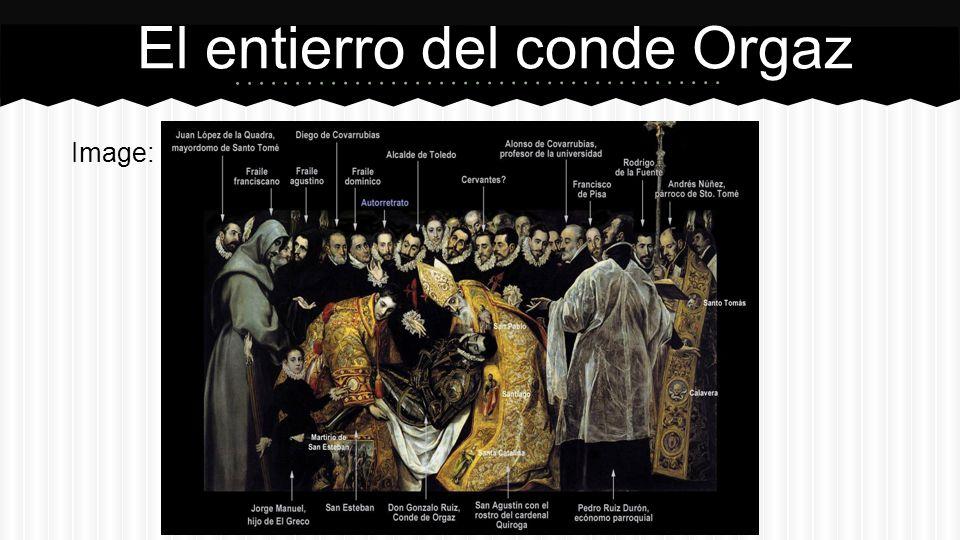 Image: El entierro del conde Orgaz