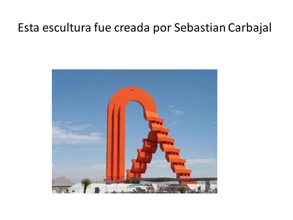 Esta escultura fue creada por Sebastian Carbajal