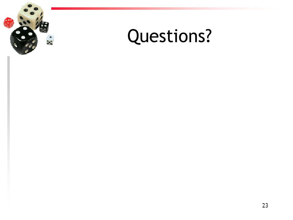 23 Questions