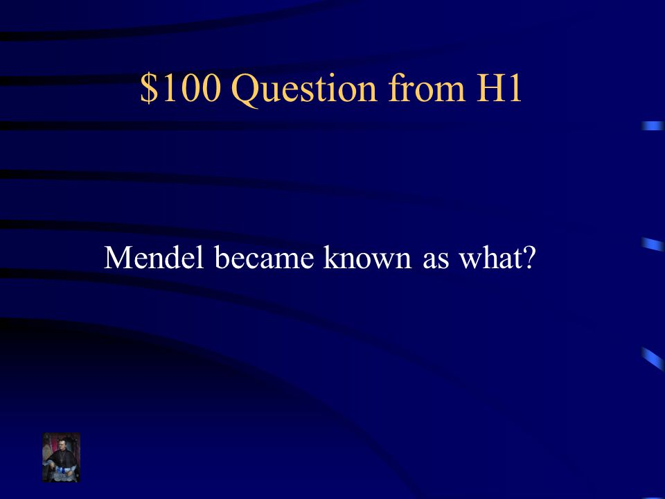 $100 Question from H3 Each parent contributes this number of allele(s) for each trait