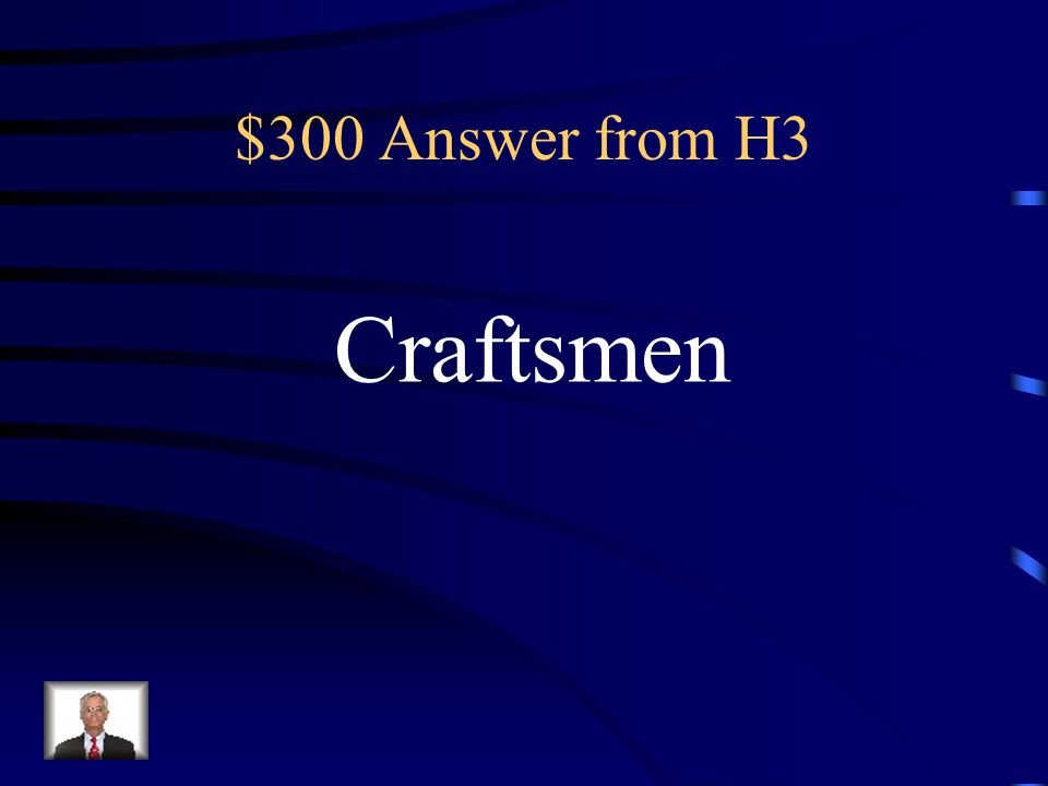 $300 Question from H3 Comanche: horsemen :: Kiowa : __________