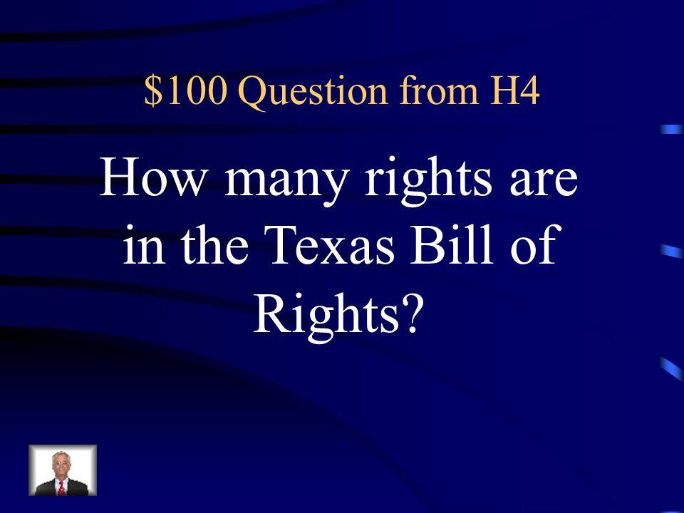 $500 Answer from H3 Kiowa
