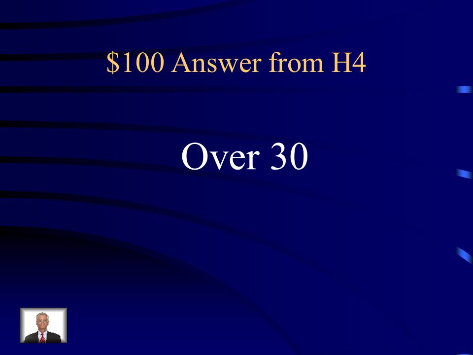 $100 Question from H4 How many rights are in the Texas Bill of Rights?