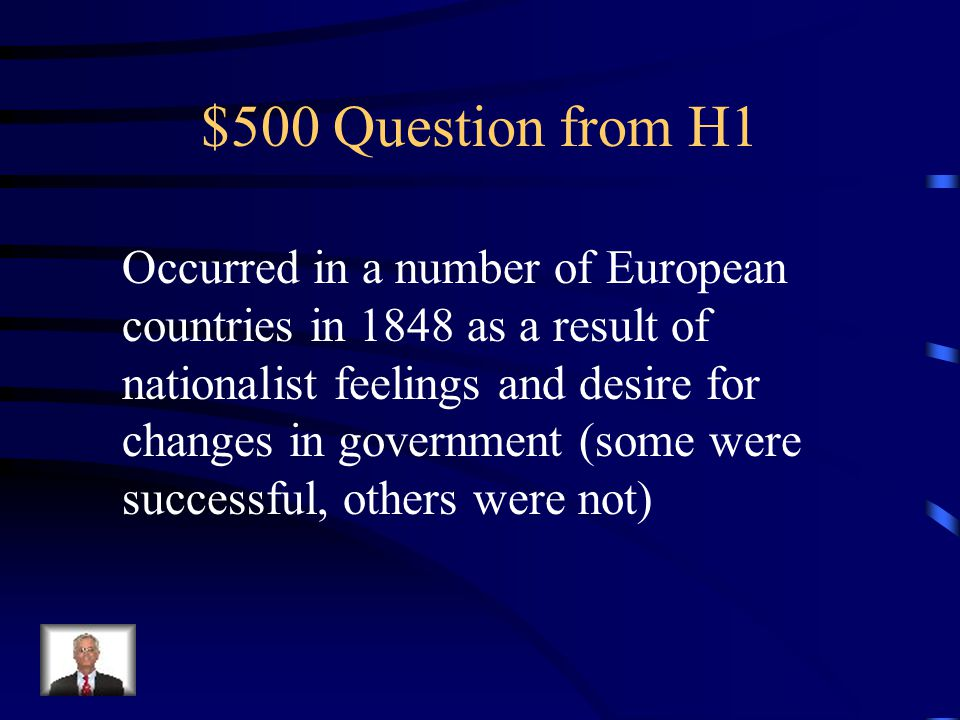 $400 Answer from H1 Nationalism