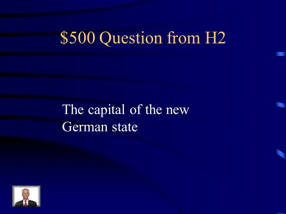 $400 Answer from H2 Wilhelm (William) I