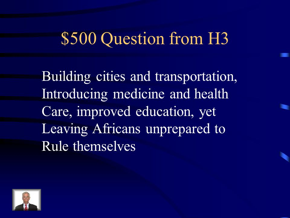 $400 Answer from H3 Natural resources and Raw materials