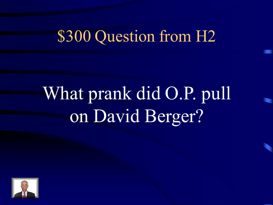 $200 Answer from H2 He put a spider in her thermos at lunchtime
