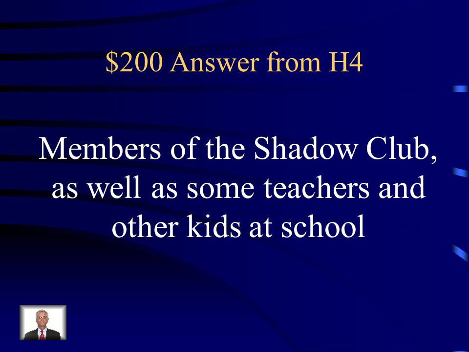 $200 Question from H4 What do Tyson's puppets represent?