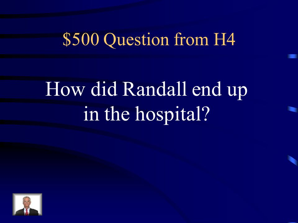 $400 Answer from H4 Ralphy Sherman in the chapter What Ralphy Says