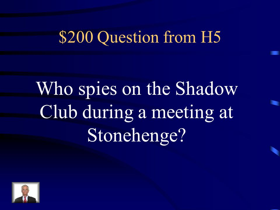 $100 Answer from H5 Fiction