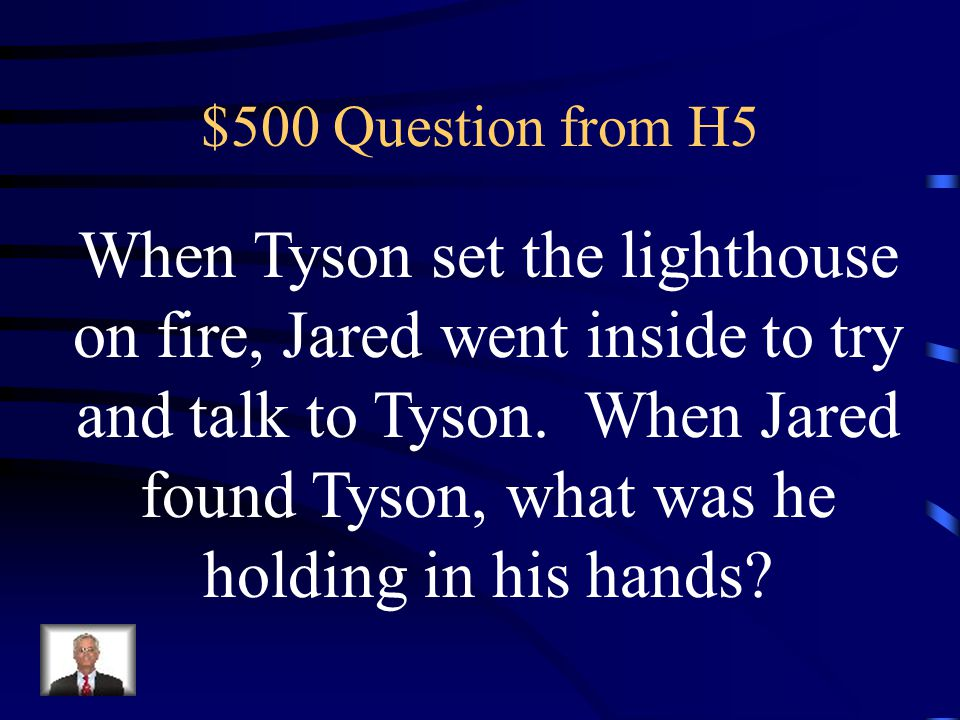 $400 Answer from H5 Tyson can't swim