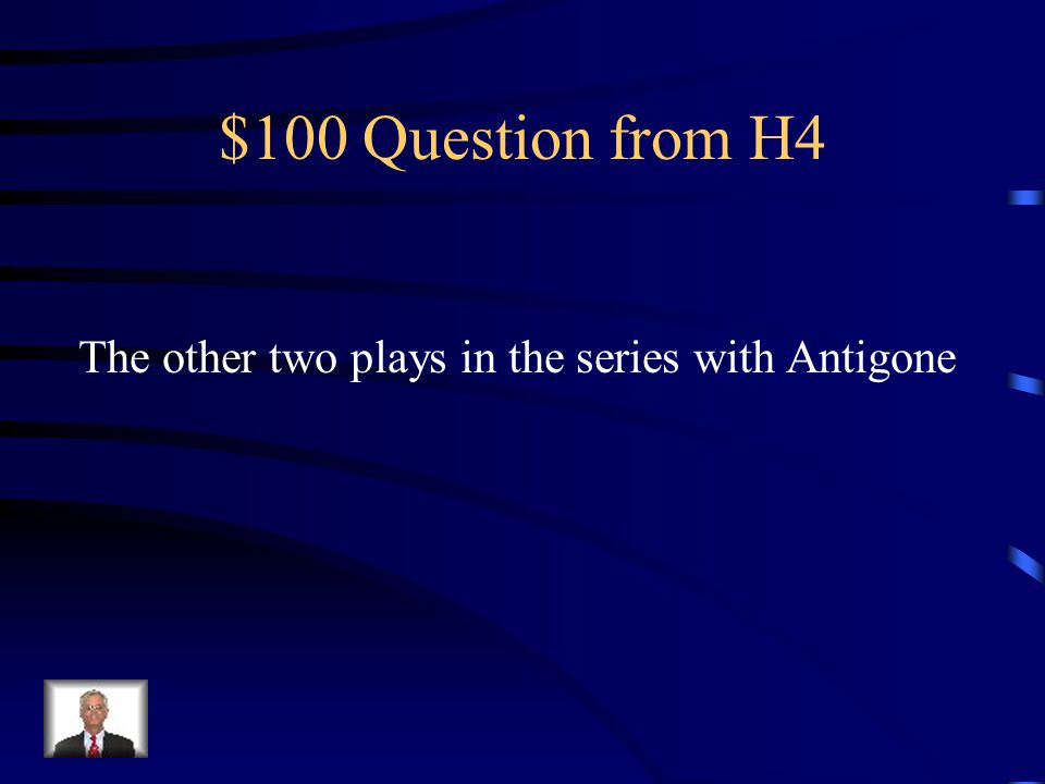 $500 Answer from H3 What is hypocrite