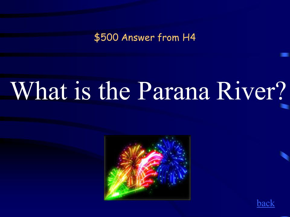 $500 Question from H4 The river shown here.