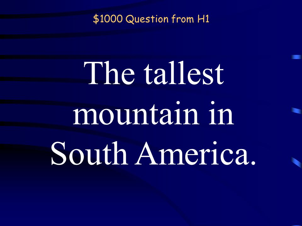 $800 Answer from H1 What is the Arabian? Back
