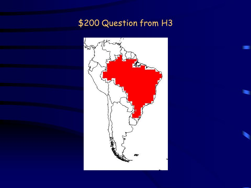 $1000 Answer from H2 What is the Ganges River? Back