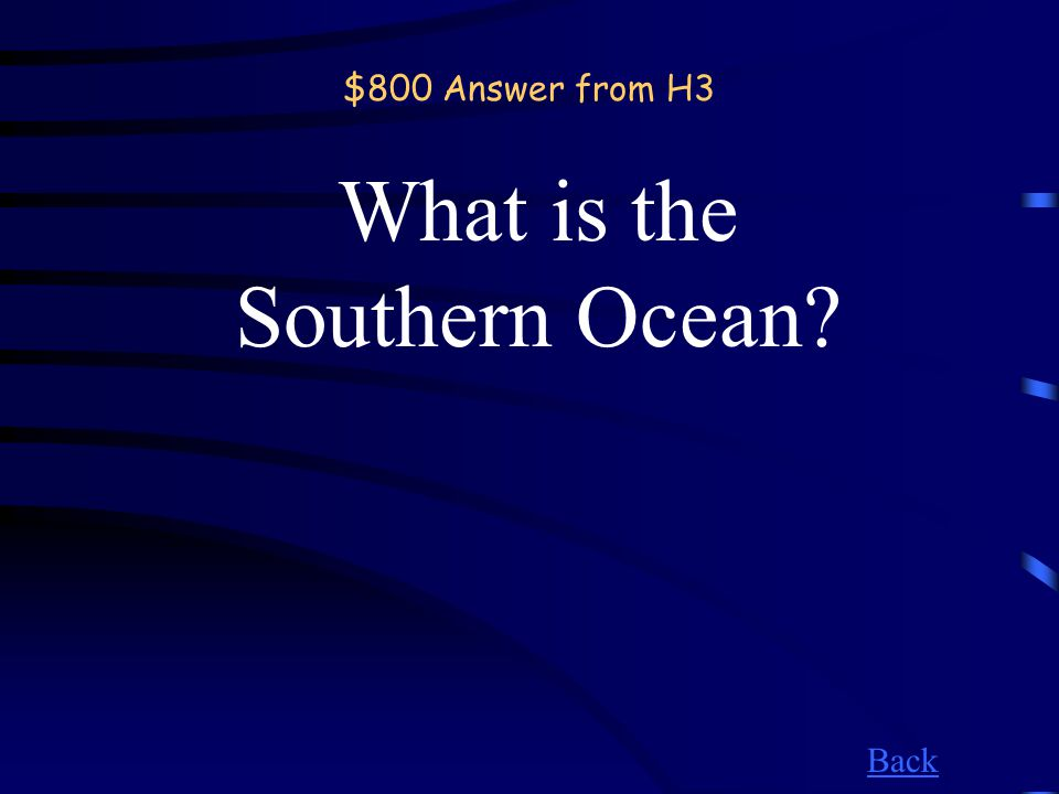 $800 Question from H3 Ocean found here.