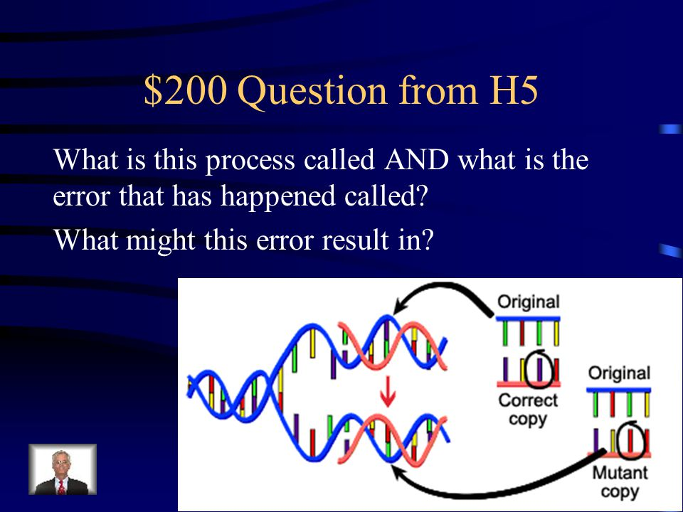 $100 Answer from H5 Conjugation Sharing of genetic material, INCREASES genetic Diversity