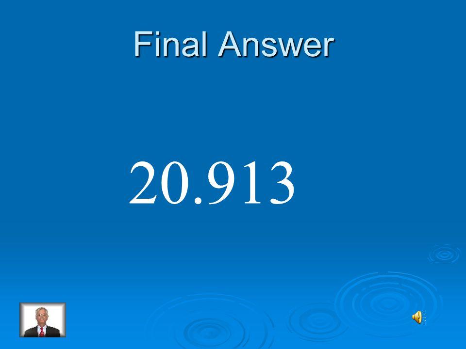 Final Round 5 104.565