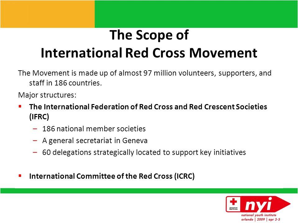 The International Red Cross Movement