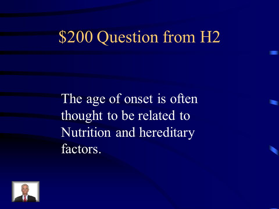 $100 Answer from H2 What are GIRLS