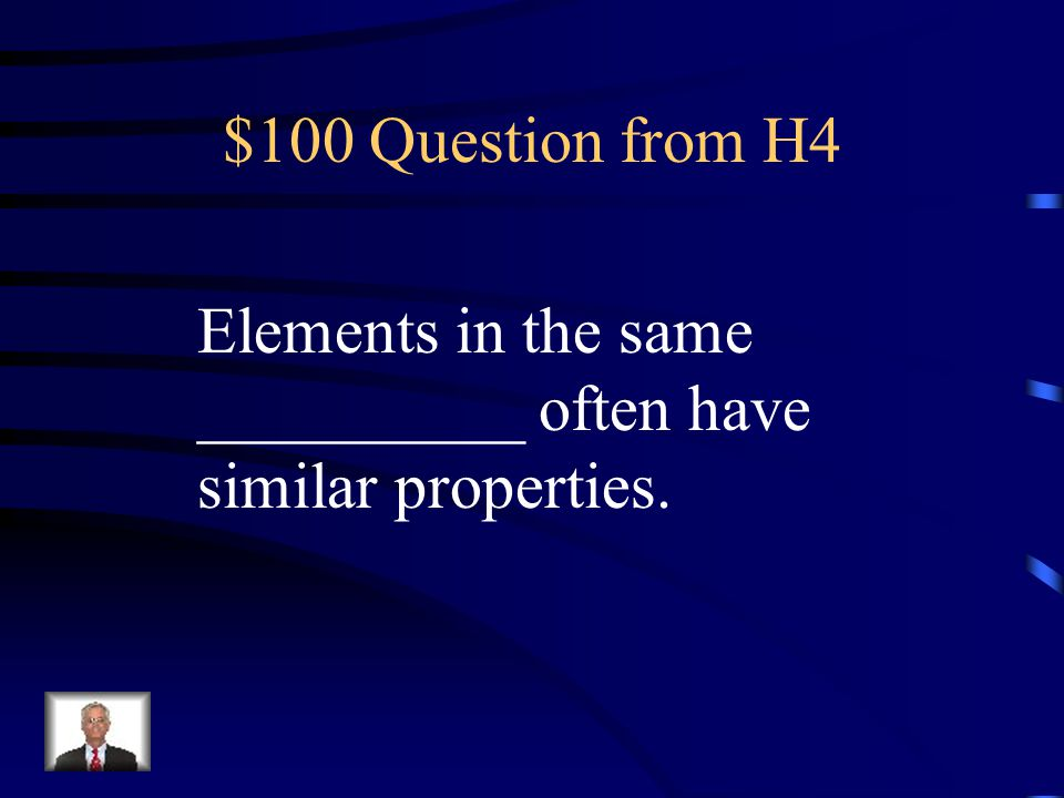 $500 Answer from H3 What are metalloids