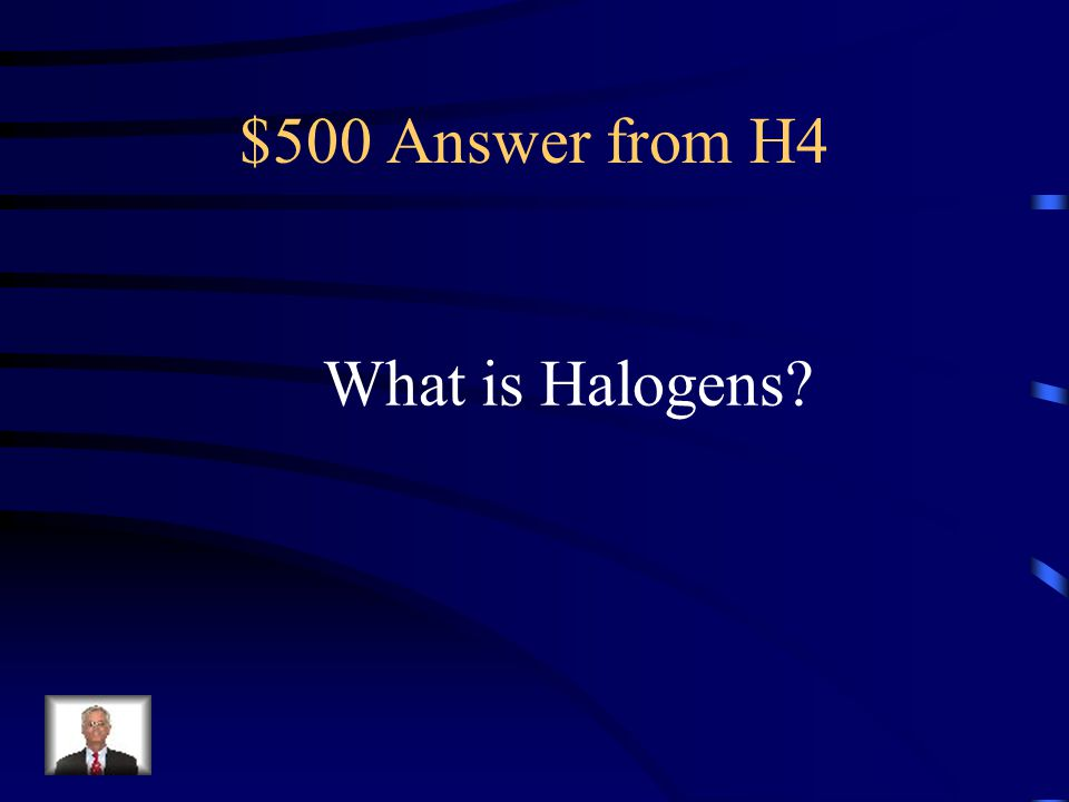 $500 Question from H4 This group has the same chemical properties but different physical properties.