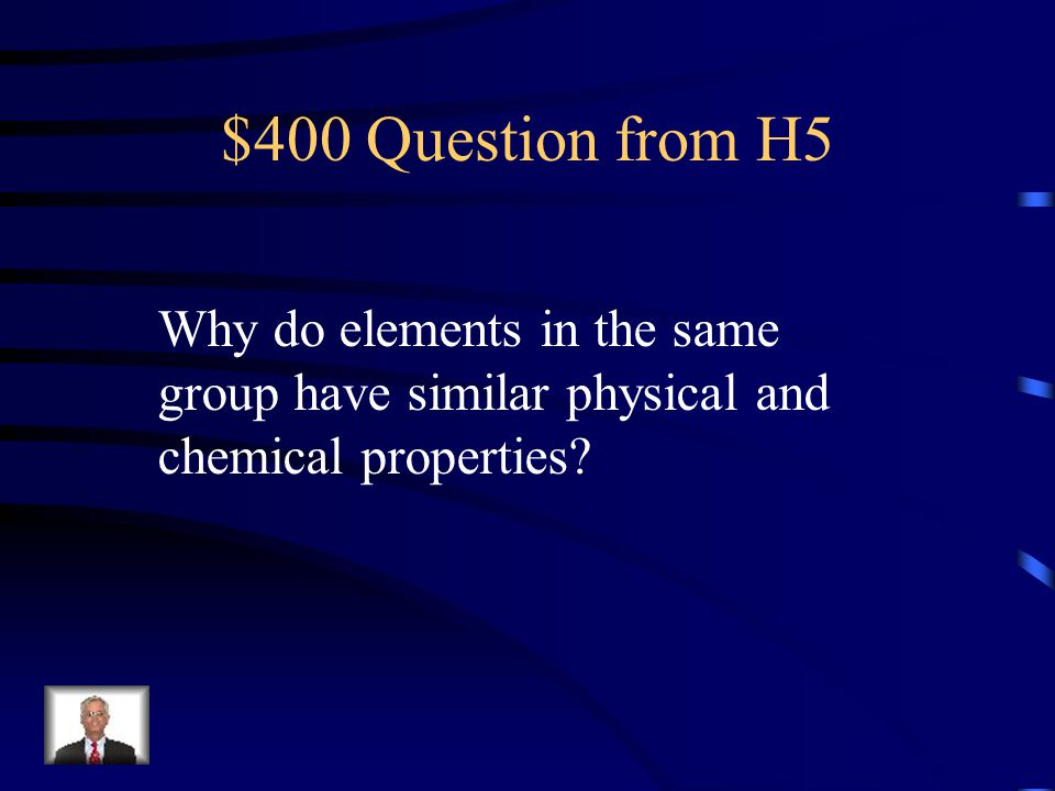 $300 Answer from H5 What is Mercury?