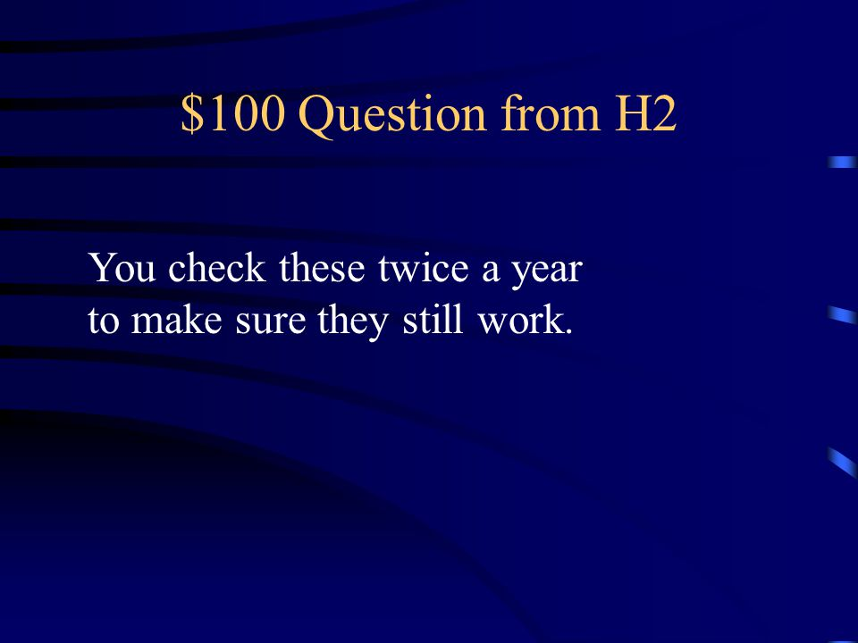 $400 Answer from H1 What is Practicing and maintaining your plan.