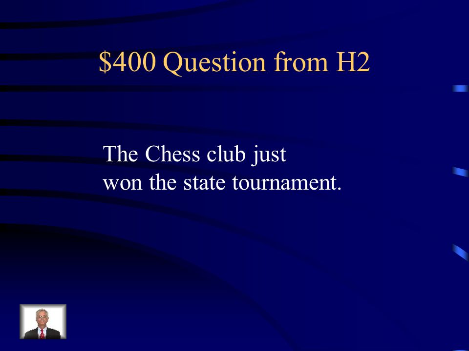 $300 Answer from H2 Compound- General Washington