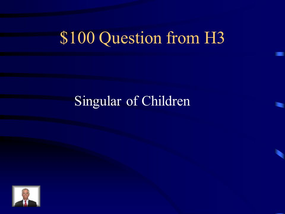 $500 Answer from H2 Compound Mr. Starr Victor Hugo