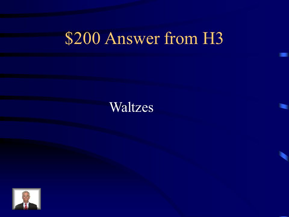 $200 Question from H3 Plural of waltz