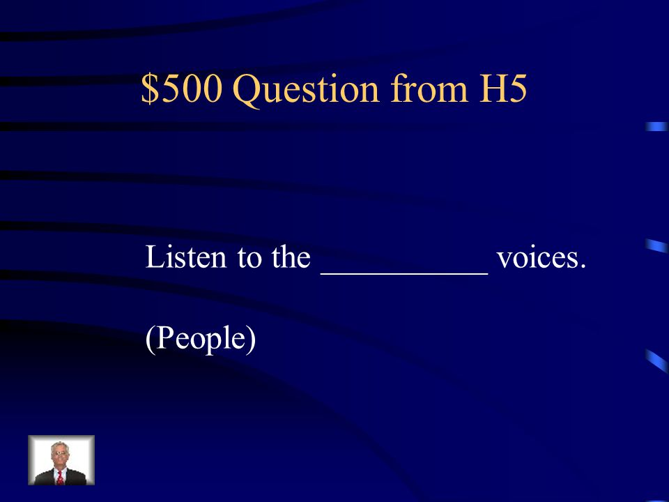 $400 Answer from H5 The Grandmother of Felicia