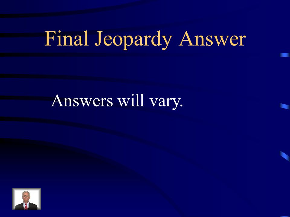 Final Jeopardy Synthesis: Create a sentence that contains at least 2 possessive nouns in the correct form.