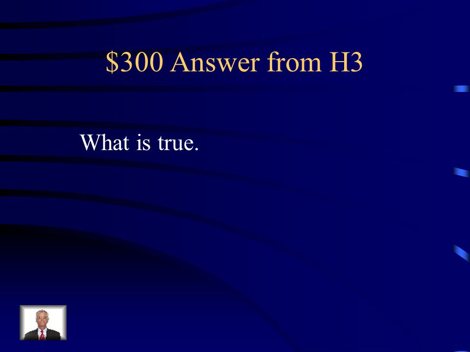 $300 Question from H3 A 3-D cell reference lists the worksheet range, an exclamation point, and a cell or range.