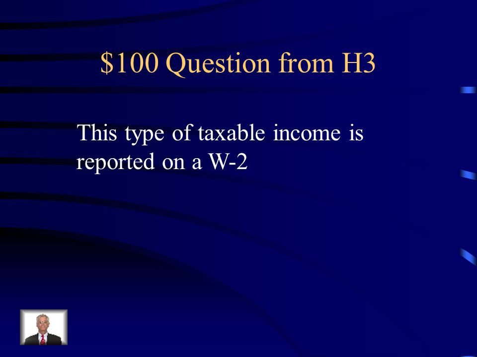 $500 Answer from H2 Head of Household Child Tax Credit Earned Income Tax Credit Child and Dependent Care Credit