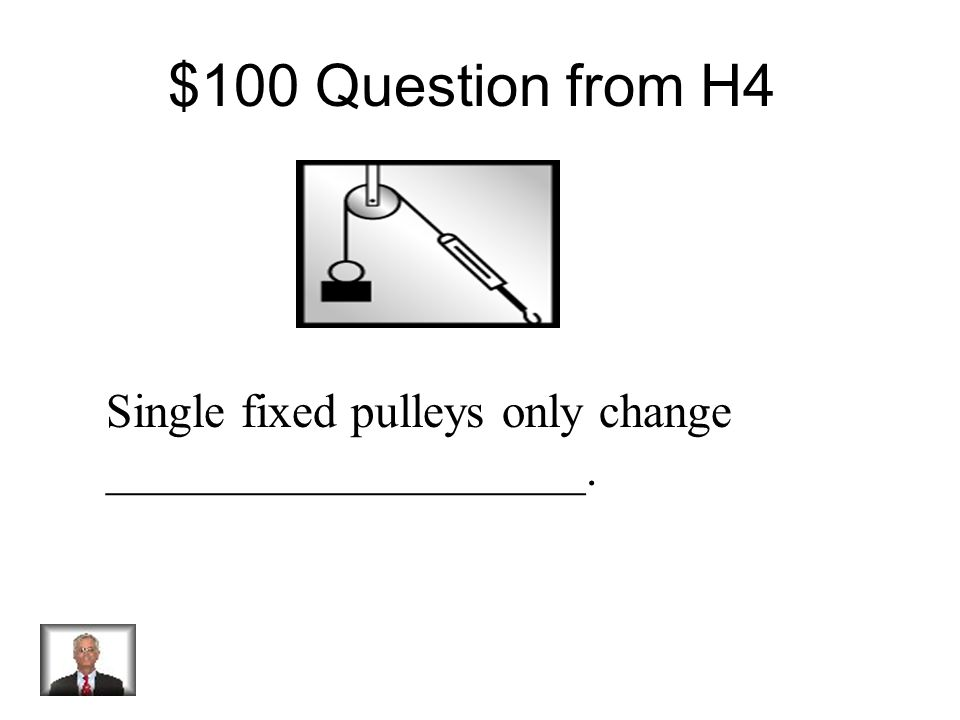 $500 Answer from H3 Constant Speed