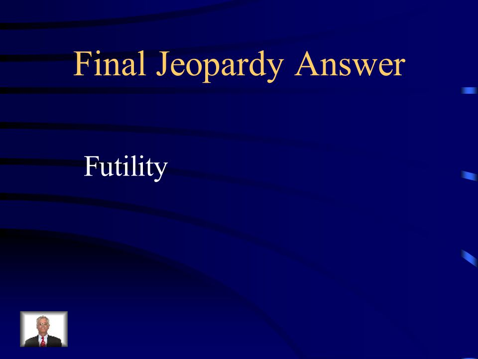 Final Jeopardy What was the name of the book that was written 10 years about a ship that sank when it hit an iceberg