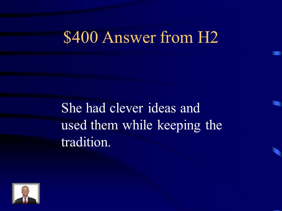 $400 Question from H2 Mary's ability to survive Ta-Na-E-Ka in her own way shows---