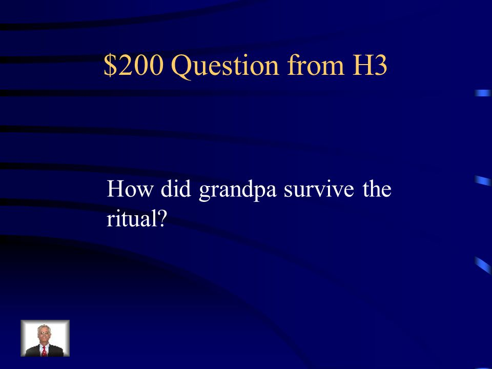 $100 Answer from H3 yes