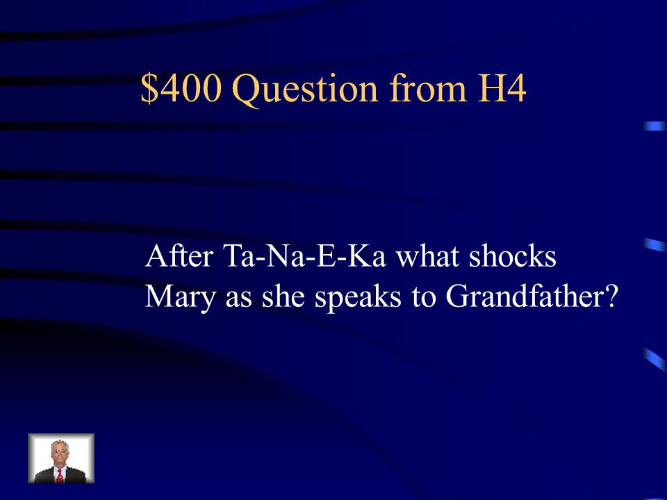 $300 Answer from H4 his sense of humor