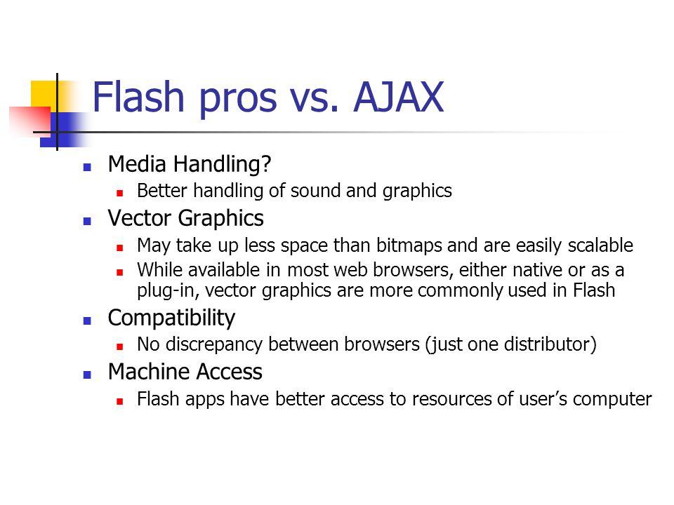 AJAX advantages vs.