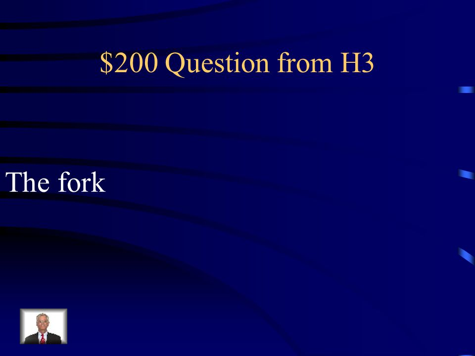 $100 Answer from H3 El bol