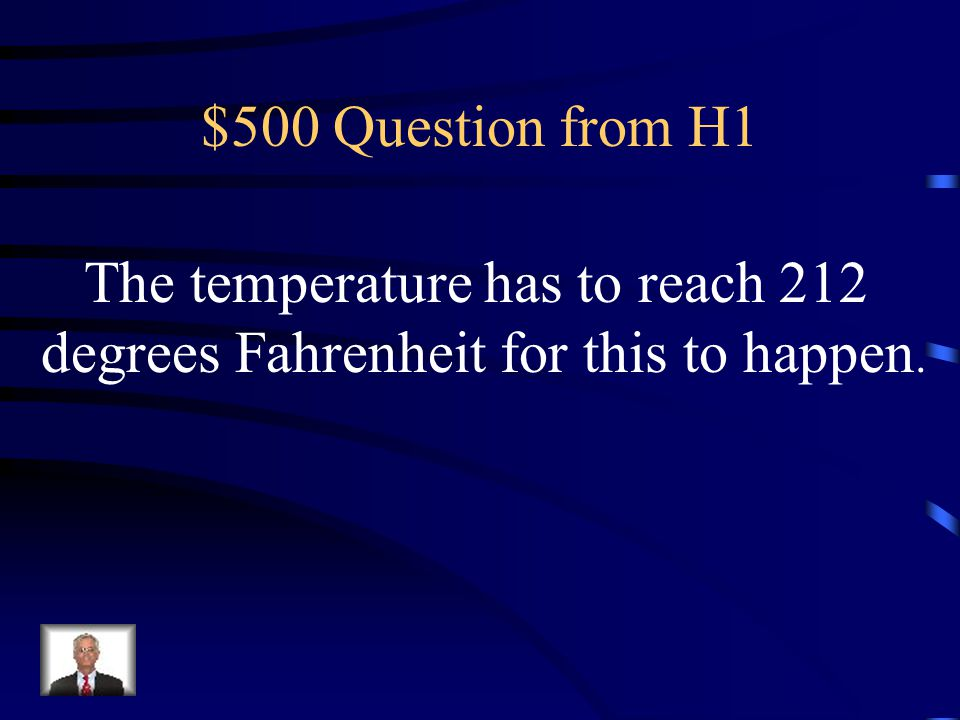 $400 Answer from H1 What is freezing temperature