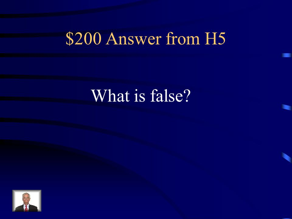 $200 Question from H5 True or False: It is possible to accurately predict the weather far into the future.