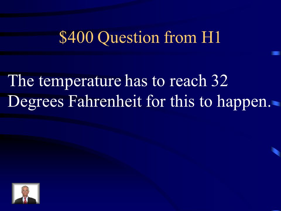$400 Question from H3 Some rain soaks into the ground.