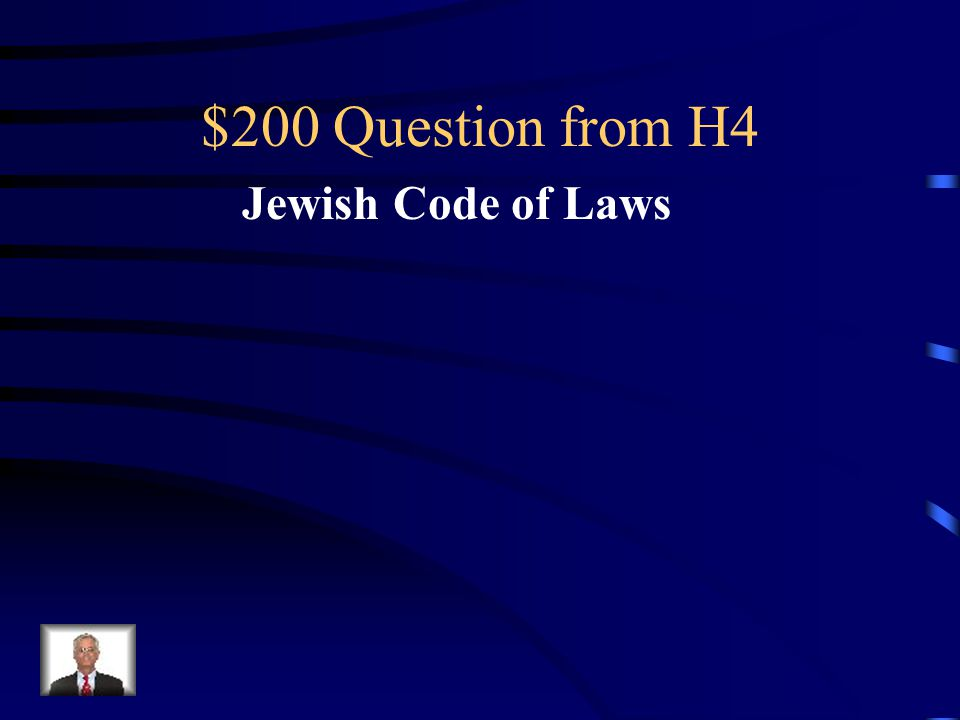 $100 Answer from H4 Christianity